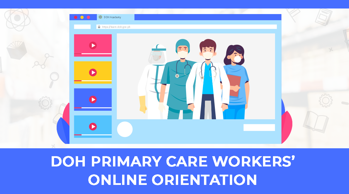 DOH Primary Care Workers' Online Orientation