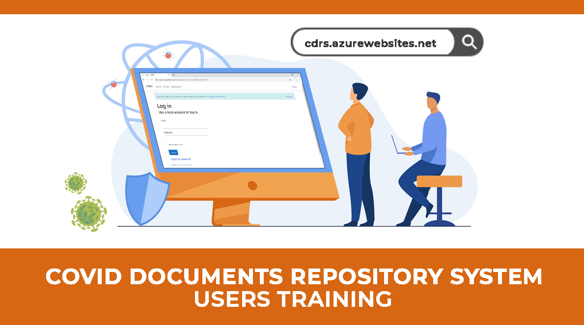 COVID Documents Repository System Users Training