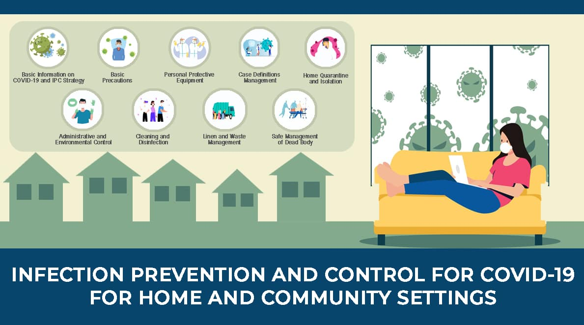 Infection Prevention and Control for COVID-19 (Home and Community Settings)